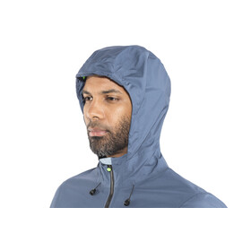 GORE WEAR C5 Gore-Tex Active Trail Hooded Jacket Men deep water blue/cloudy blue